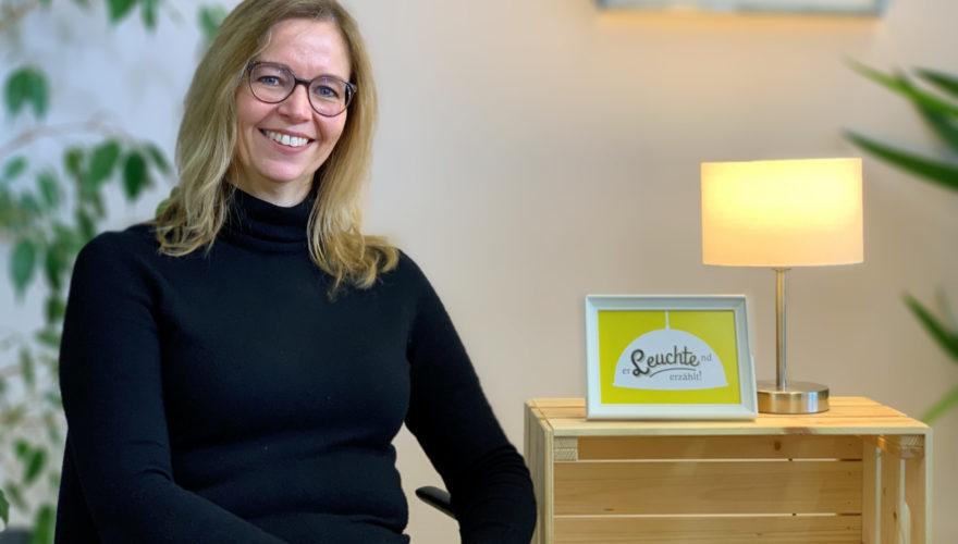 """Willkommen beim ersten Chef-Storytelling Blog Österreichs! Heute bei """"Erleuchtend erzählt"""" im Interview - Eva Eggeling."""