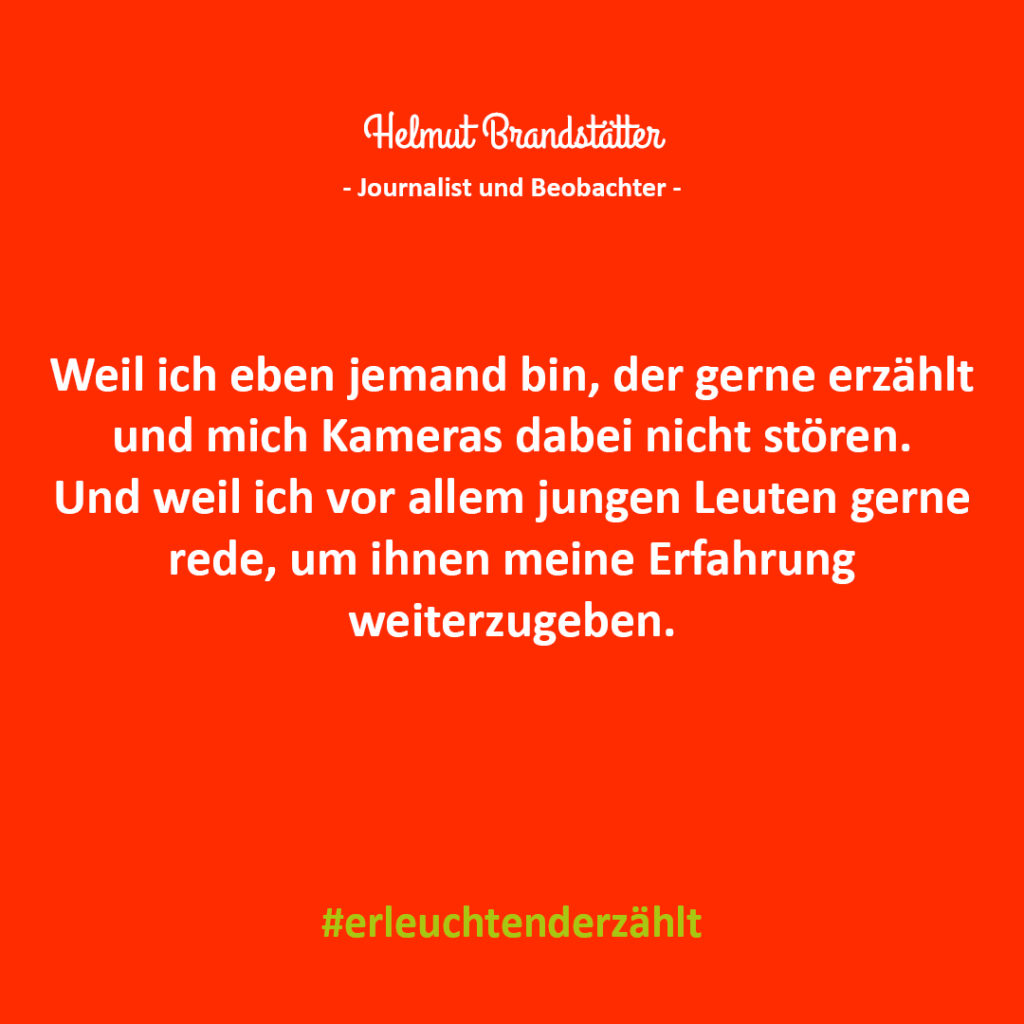 Chef Zitat Helmut Brandstätter NEOS