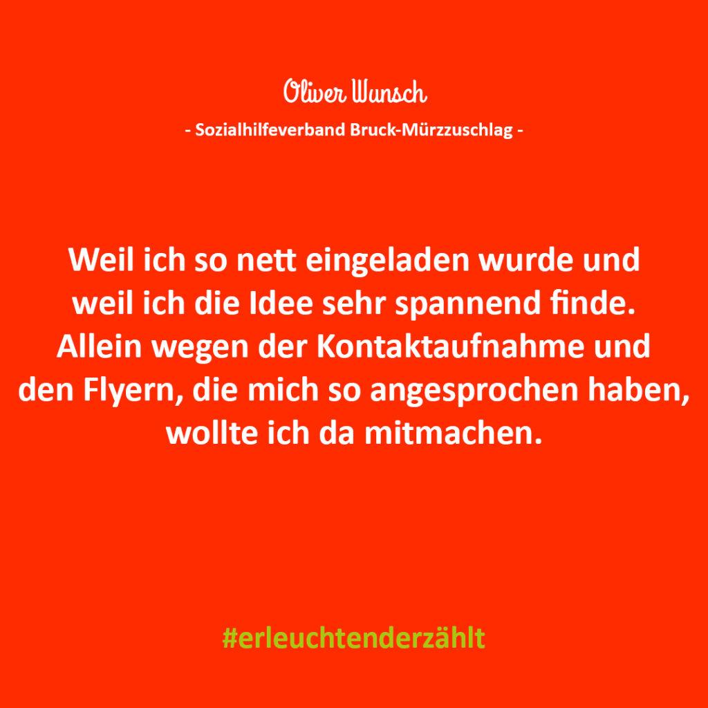 Chef Zitat Oliver Wunsch SHV Bruck-Mürzzuschlag